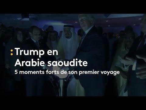 Trump en Arabie Saoudite : les 5 moments forts - franceinfo