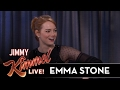 Emma Stone is Not Ready for the Oscars