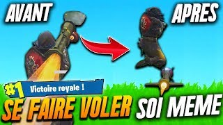 🔥 COMMENT SE FAIRE VOLER AU MISSILE SOI-MÊME sur FORTNITE TOP 1 BATTLE ROYALE