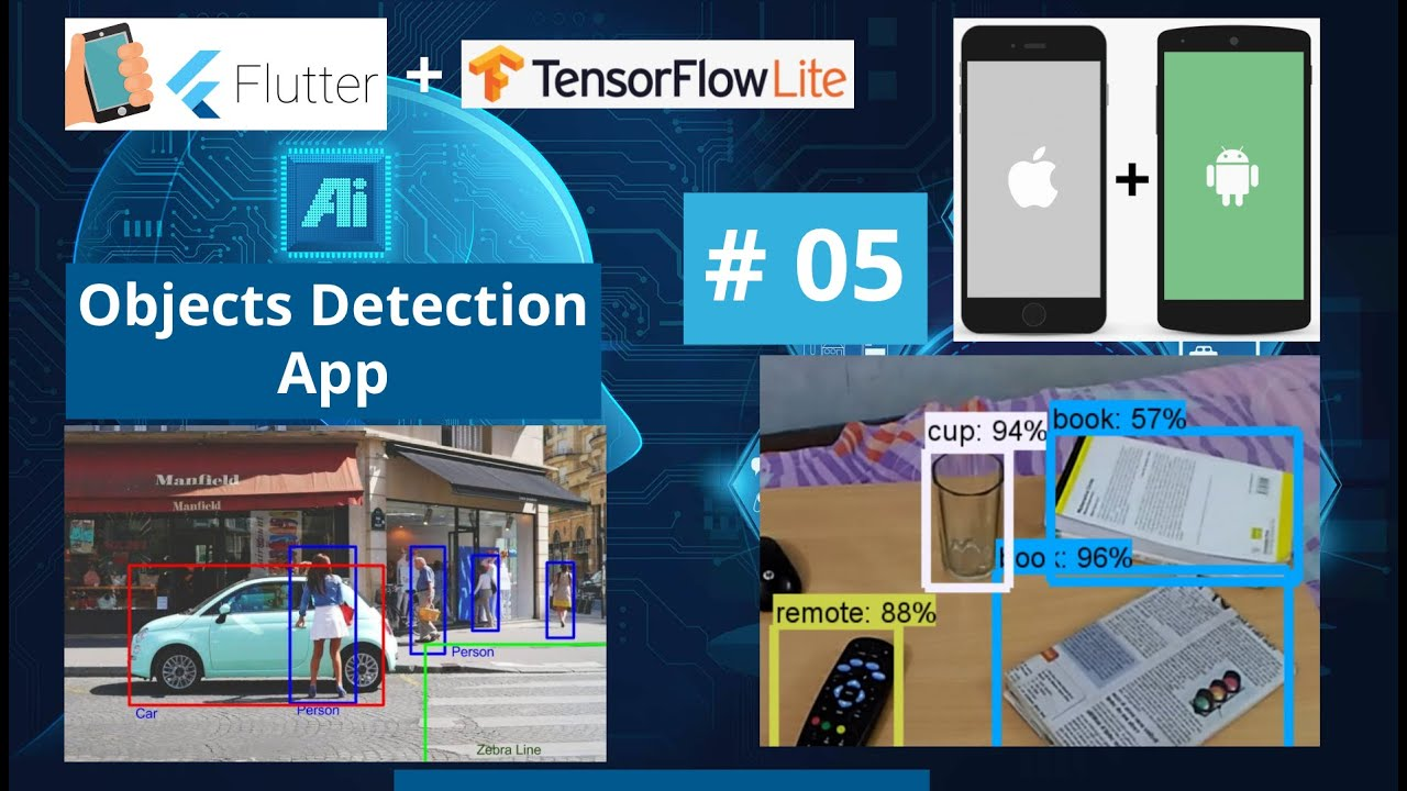Flutter Live Camera Tutorial - Android & iOS Object Detection App - TfLite Mobile Machine Learning