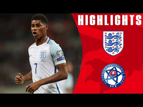 Excellent Goals from Rashford and Dier See Off Slovakia | England 2-1 Slovakia | Official Highlights