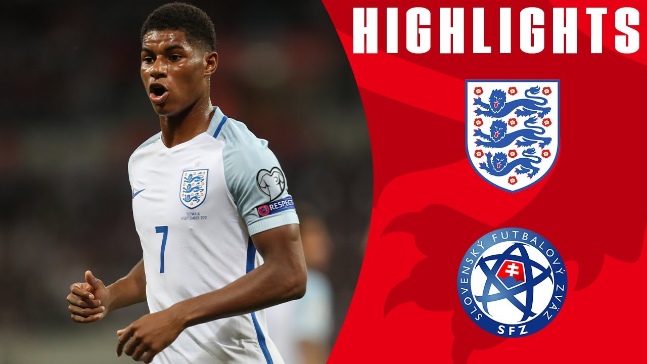 separation shoes 40ed7 db612 Excellent Goals from Rashford and Dier See Off Slovakia   England 2-1  Slovakia   Official Highlights