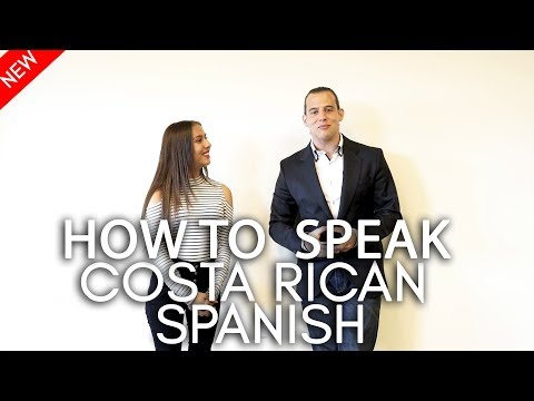 How to Speak Costa Rican Spanish: Basic Expressions