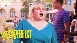 Pitch Perfect | Fat Amy signs up to The Barden Bellas  | Rebel Wilson