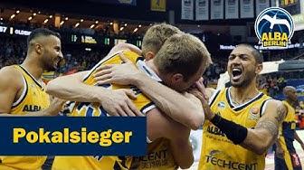 Pokalsieger! So feiert ALBA BERLIN den ersten Titel unter Coach Aito