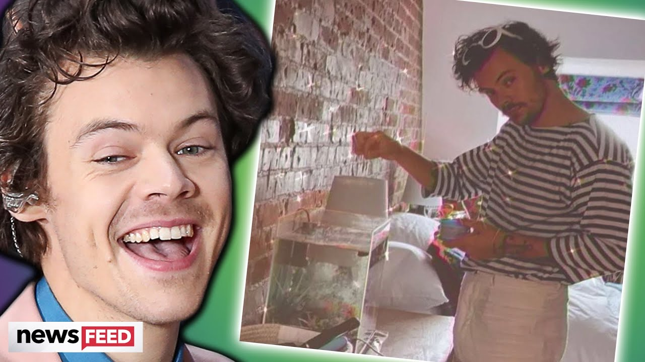 Harry Styles HANGS OUT At Fan's House After His Car Breaks Down