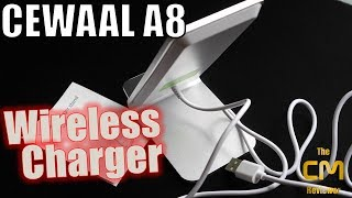 Cewaal A8 Fast Wireless Charger - Test - Induktive Ladestation im Ha...