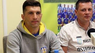 Bramkarz Korony Ostrołęka Andrzej Łyziński o meczu z Mazovią