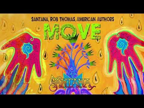 Santana, Rob Thomas, American Authors - Move