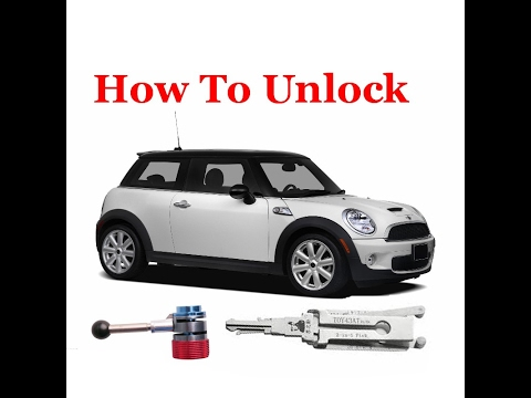 How To Unlock A Bmw Mini Youtube
