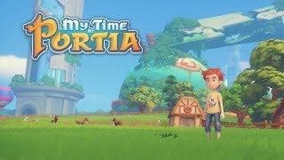 [СТРИМ] Наташа Time At Portia - Крафт и приключения! Лучшая игра для детей и их родителей!