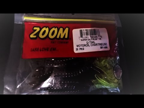 ZOOM U-Tail Worms