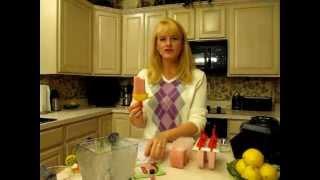Fluffy Frozen Strawberry & Lemon Bars, P2 & P3 Friendly, Hcg Diet