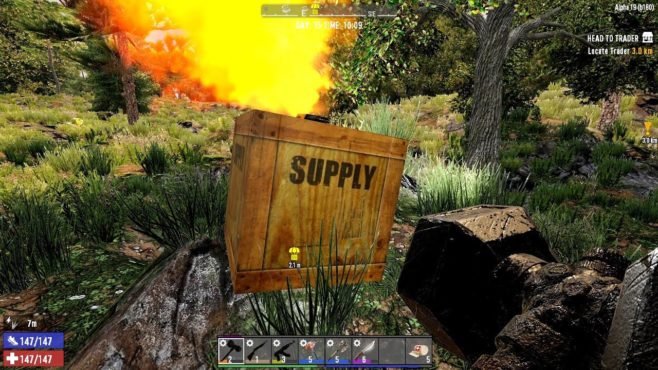Download 7 Days To Die Alpha 19 - Treasure Hunt - S1E09