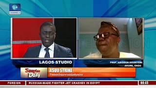 Abiodun Ogunyemi, Linus Ukamba, Speaks On ASUU Nationwide Strike And Minimum Wage Demand Pt.3