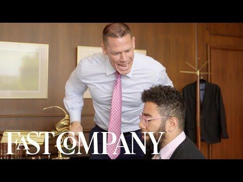 "John Cena gives the ""best"" career advice   Fast Comedy"