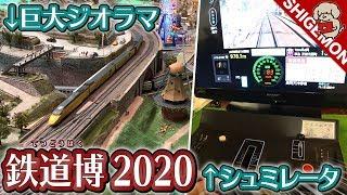 鉄道博2020で巨大鉄道模型ジオラマと阪急電車シュミレータを体験!/ Nゲージ【SHIGEMON】