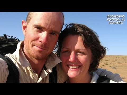 Tim Moss & Laura Moss  Around the World Cyclists
