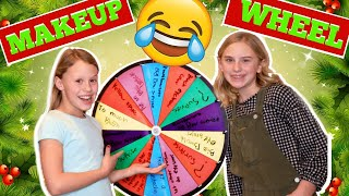 Silly Makeup Surprise Wheel! Whose Makeup is the Funniest?