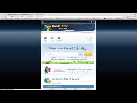 Add & Manage Multiple WordPress Blogs in cPanel at HostGator