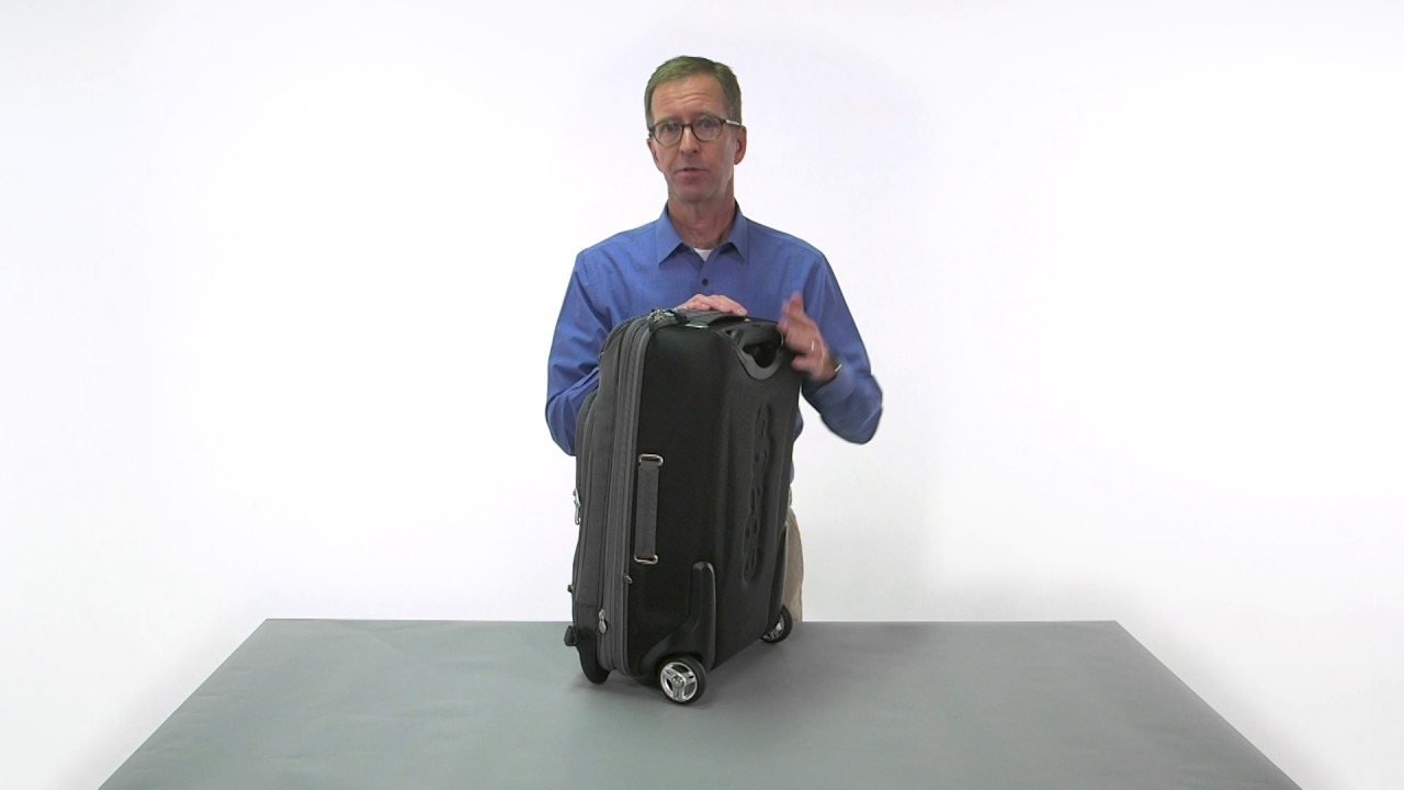 262812d04 eBags TLS Convertible Wheeled Carry-On - eBags.com - YouTube