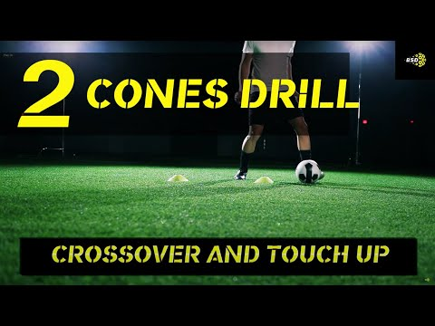 Soccer Drill: Two Cone Setup to Improve your Dribbling ...