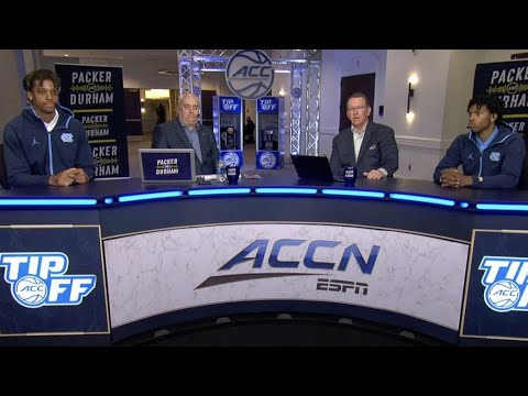 Video: Armando Bacot, Caleb Love Join Packer & Durham At ACC Tipoff