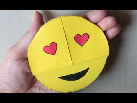DIY - Easy Emoji DIY Bookmark Corners (Paper Crafts)b || Paper Bookmark Origami
