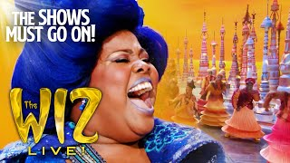 Hes the Wizard Amber Riley | The WIZ Live! YouTube Videos