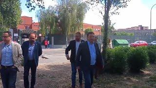 Vara visita el IES Albarregas de Mérida