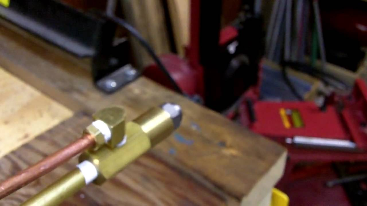 Siphon Nozzle For Waste Oil Burner Youtube