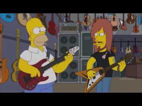Homer simpson plays DOOM / SUNN O)))