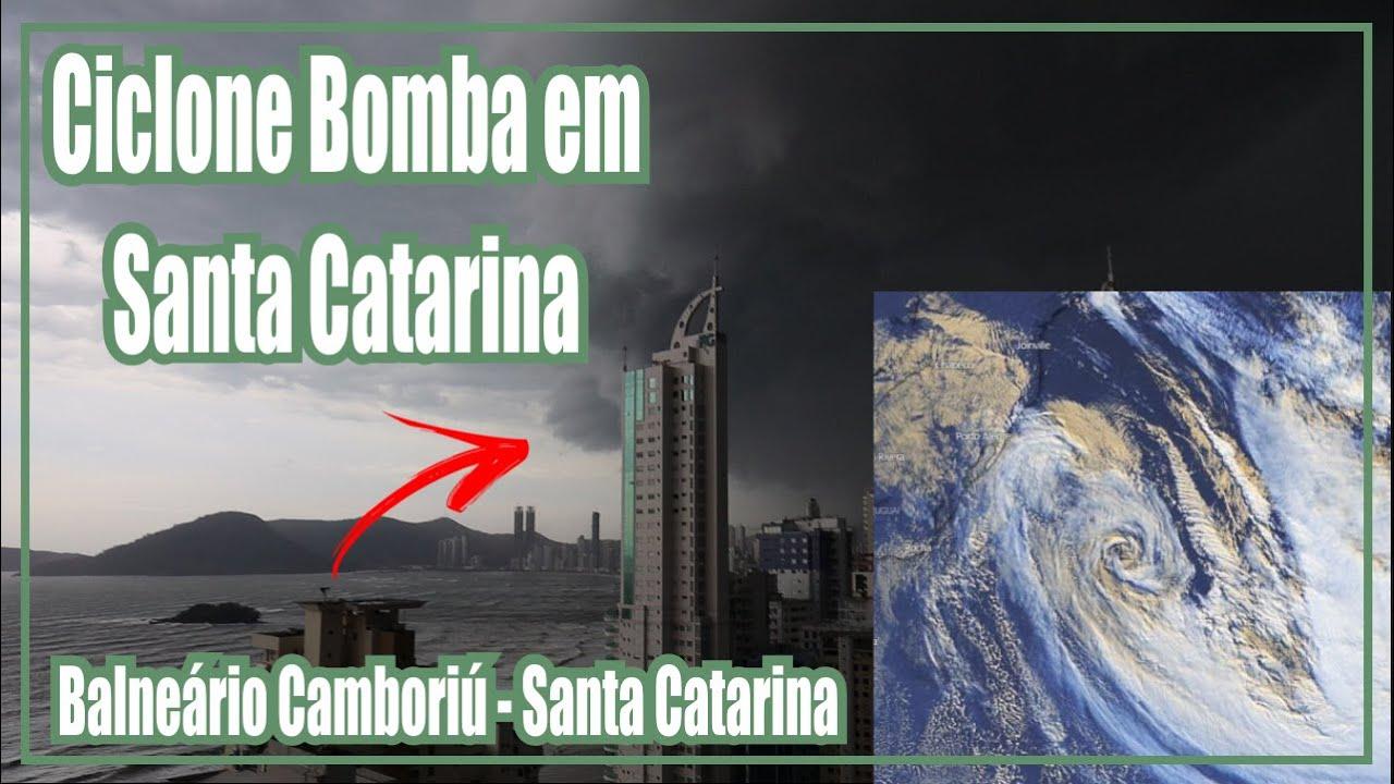 Falando Sobre o Ciclone Bomba que Atingiu Balneário Camboriú