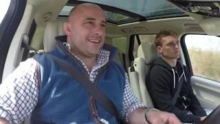 Open Range: David Flatman meets Henry Slade and Jack Nowell