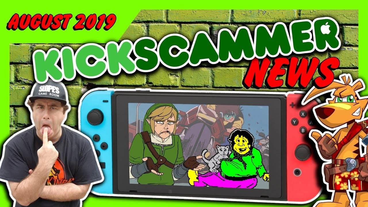 Fake Weddings, Zelda Cookbooks, Terrible Games & future Nintendo Switch  DISASTERS #KickscammerNews