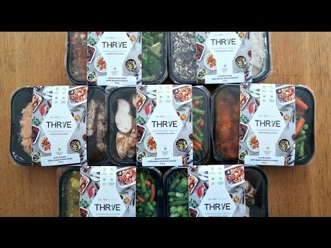 THR1VE Keto Meals Delivered Unboxing | AD