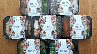THR1VE Keto Meals Delivered Unboxing | AD