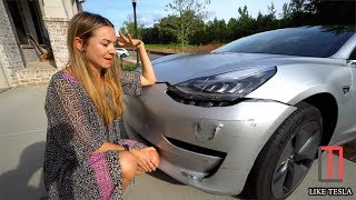 Our Model 3 Crash & 24 Hour Turn Around!