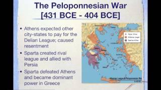 AP World History Period 2: Persian and Peloponnesian Wars