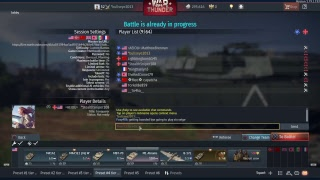 (War Thunder) Custom match W/friends & Subs enjoy