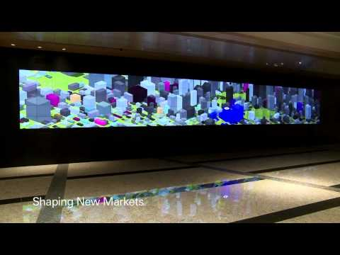 10  ●Deutsche Bank Media Wall Hong Kong