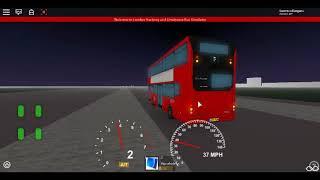 Roblox London Hackney & Limehouse bus Simulator First Day MCV EvoSeti Volvo Hybrid GAL Route D7 :)