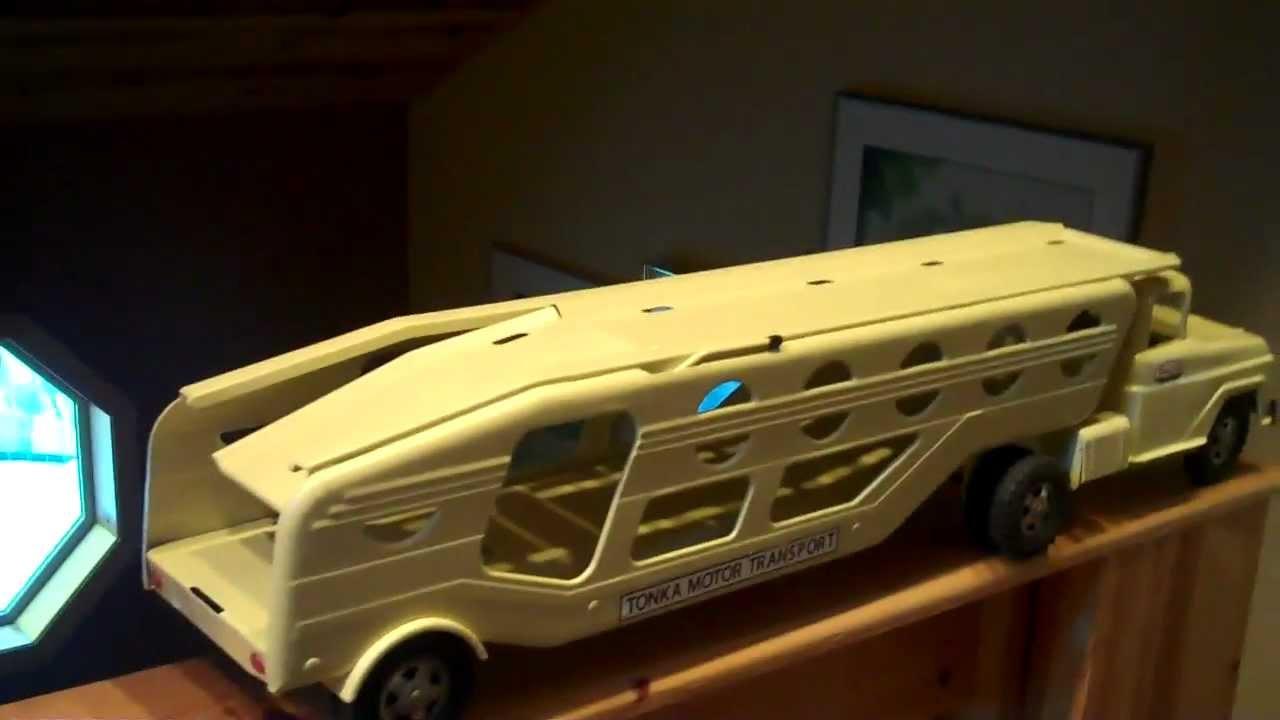 1960 Tonka Auto Transport Truck