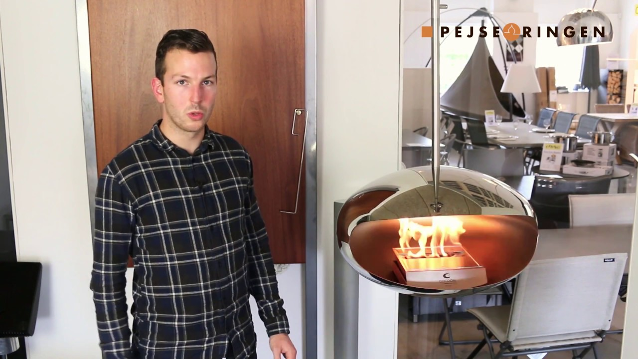 Hvor meget varme giver en biopejs? - YouTube