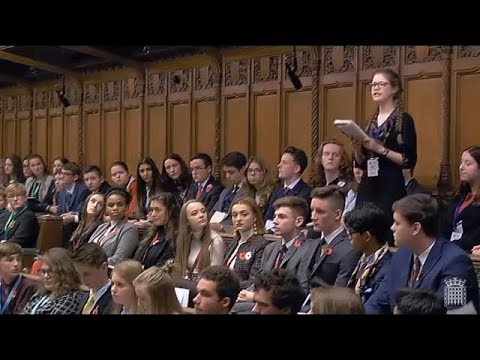 Youth Took Over U. K. Parliament With Great Enthusiasm