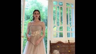브라이덜샤워원피스 스몰웨딩 약혼식 미니웨딩드레스 연주복