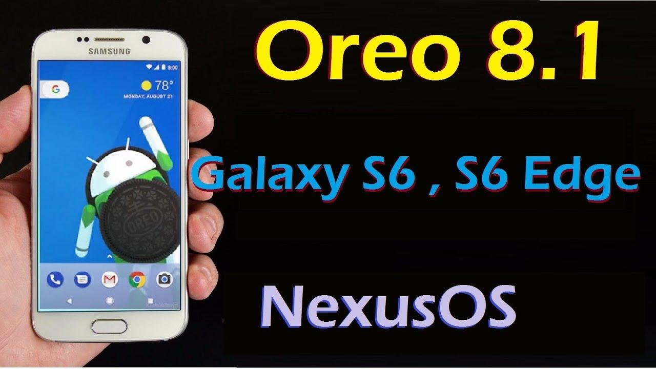 samsung galaxy s6 edge software update oreo