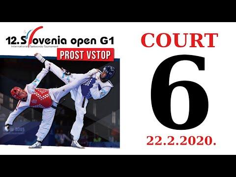 12th Slovenia Open G1 2020. - DAY 1 – COURT 6