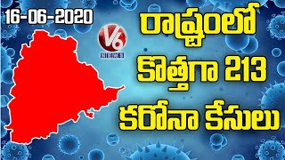 Telangana reported 213 new cases of Covid-19 infections and four fatalities, taking the total number of infections in the state to 5406 and death toll to 191, ...