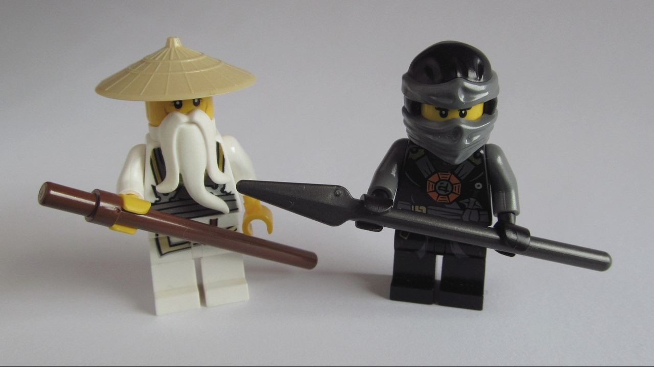 Lego ninjago movie custom nya sensei wu youtube - Sensei ninjago ...